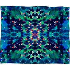 Amy Sia Water Dream Polyester Fleece Throw Blanket