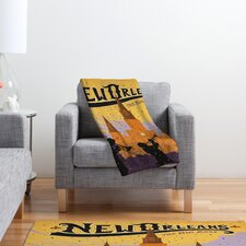 Anderson Design Group New Orleans 1 Polyester Fleece  Throw Blanket