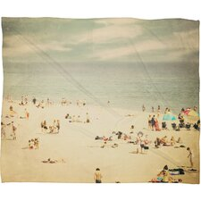 <strong>DENY Designs</strong> Shannon Clark Vintage Beach Polyester Fleece Throw Blanket