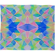<strong>DENY Designs</strong> Amy Sia Chroma Blue Polyester Fleece Throw Blanket