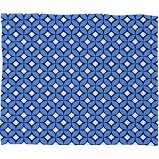 Caroline Okun Blueberry Polyester Fleece Throw Blanket