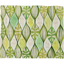 <strong>DENY Designs</strong> Cori Dantini Green Polyester Fleece Throw Blanket