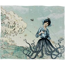 <strong>DENY Designs</strong> Belle13 Sea Fairy Polyester Fleece Throw Blanket