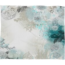 <strong>DENY Designs</strong> Iveta Abolina Seafoam Polyester Fleece Throw Blanket
