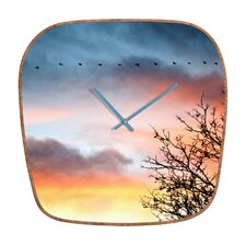 Bird Wanna Whistle Wall Clock