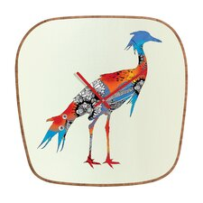 Iveta Abolina Bluebird Wall Clock