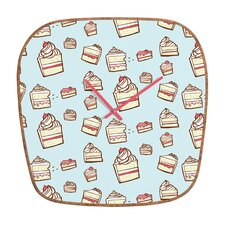 <strong>DENY Designs</strong> Jennifer Denty Cake Wall Clock