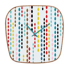Khristian A Howell Nolita Drops Wall Clock