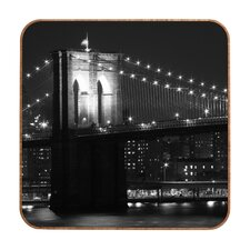 Brooklyn Bridge 125 by Leonidas Oxby Framed Photographic Print Plaque