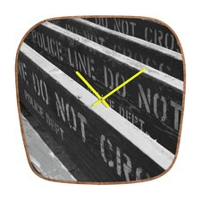 <strong>DENY Designs</strong> Leonidas Oxby Do Ya Feel Lucky Wall Clock