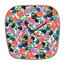 Khristian A Howell Valencia Wall Clock