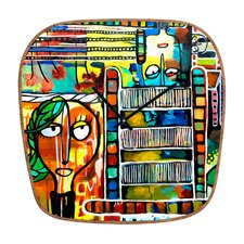 Robin Faye Gates Musical Chairs Wall Clock