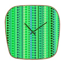 <strong>DENY Designs</strong> Romi Vega Retro Wall Clock