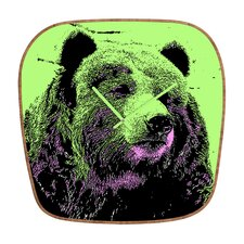 <strong>DENY Designs</strong> Romi Vega Bear Wall Clock