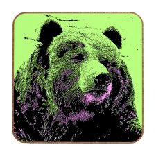 Bear by Romi Vega Framed Graphic Art Plaque