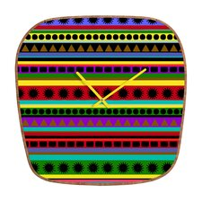 Romi Vega Heavy Pattern Wall Clock