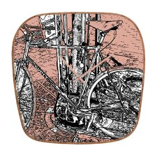 <strong>DENY Designs</strong> Romi Vega Bike Wall Clock
