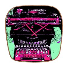 Romi Vega Antique Typewriter Wall Clock