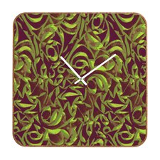 Wagner Campelo Abstract Garden Wall Clock