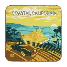 Coastal California by Anderson Design Group Framed Vintage Advertisement Plaque