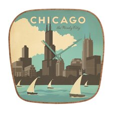 Anderson Design Group Chicago Wall Clock
