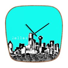 Bird Ave Dallas Wall Clock