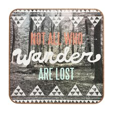 Wander by Wesley Bird Framed Textual Art Plaque