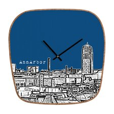 <strong>DENY Designs</strong> Bird Ave Ann Arbor Wall Clock