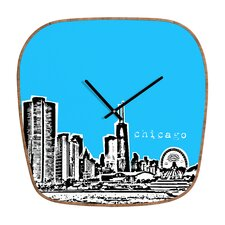 <strong>DENY Designs</strong> Bird Ave Chicago Wall Clock