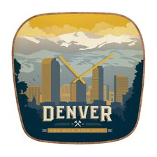 Anderson Design Group Denver Wall Clock