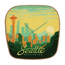 Anderson Design Group Seattle Wall Clock