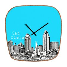 <strong>DENY Designs</strong> Bird Ave San Diego Wall Clock