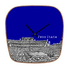 <strong>DENY Designs</strong> Bird Ave NCAA University Wall Clock