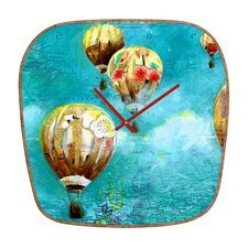 Land Of Lulu Herd of Balloons Wall Clock