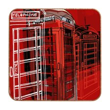 Phone Box by Aimee St Hill Framed Graphic Art Plaque