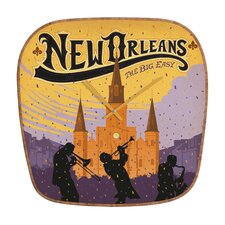 Anderson Design Group New Orleans Wall Clock