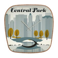 <strong>DENY Designs</strong> Anderson Design Group Central Park Wall Clock