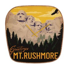 <strong>DENY Designs</strong> Anderson Design Group Mount Rushmore Wall Clock