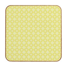 <strong>DENY Designs</strong> Caroline Okun Yellow Spirals Wall Art