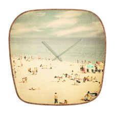 <strong>DENY Designs</strong> Shannon Clark Vintage Beach Wall Clock