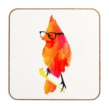 Punk Bird by Robert Farkas Framed Graphic Art Plaque