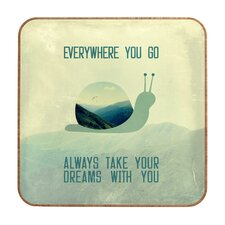 <strong>DENY Designs</strong> Belle13 Always Take Your Dreams With You Wall Art