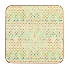 Pattern State Triangle Lake Wall Art