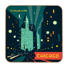 Anderson Design Group Chicago Mag Mile Wall Art