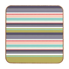 Wendy Kendall Multi Stripe Wall Art