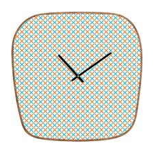 <strong>DENY Designs</strong> Tammie Bennett X Check Wall Clock