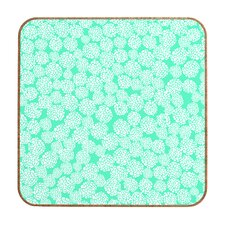 Dahlias Seafoam by Joy Laforme Framed Graphic Art Plaque