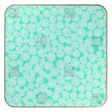 <strong>DENY Designs</strong> Joy Laforme Dahlias Seafoam BlingBox Face