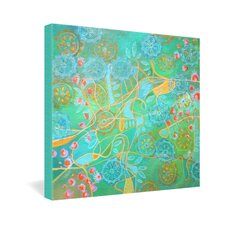 Stephanie Corfee Secret Garden Gallery Wrapped Canvas