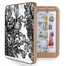 Julia Da Rocha Wild Leaves Jewelry Box